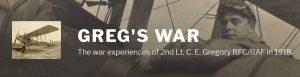 Greg's War logo